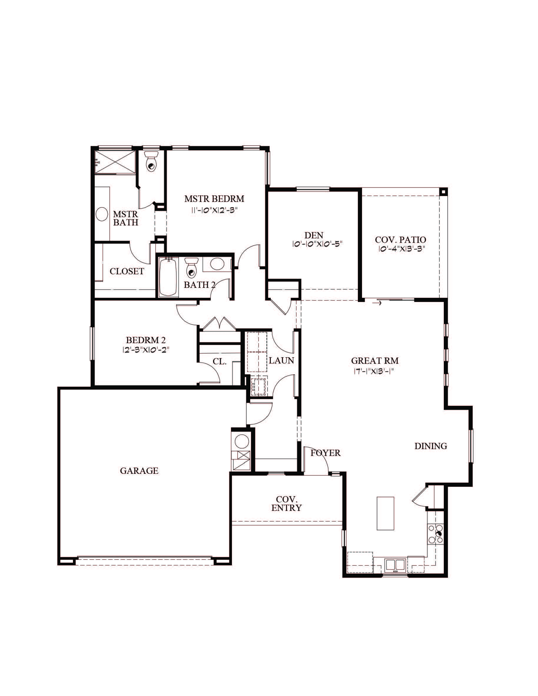 Dulce Floor Plan