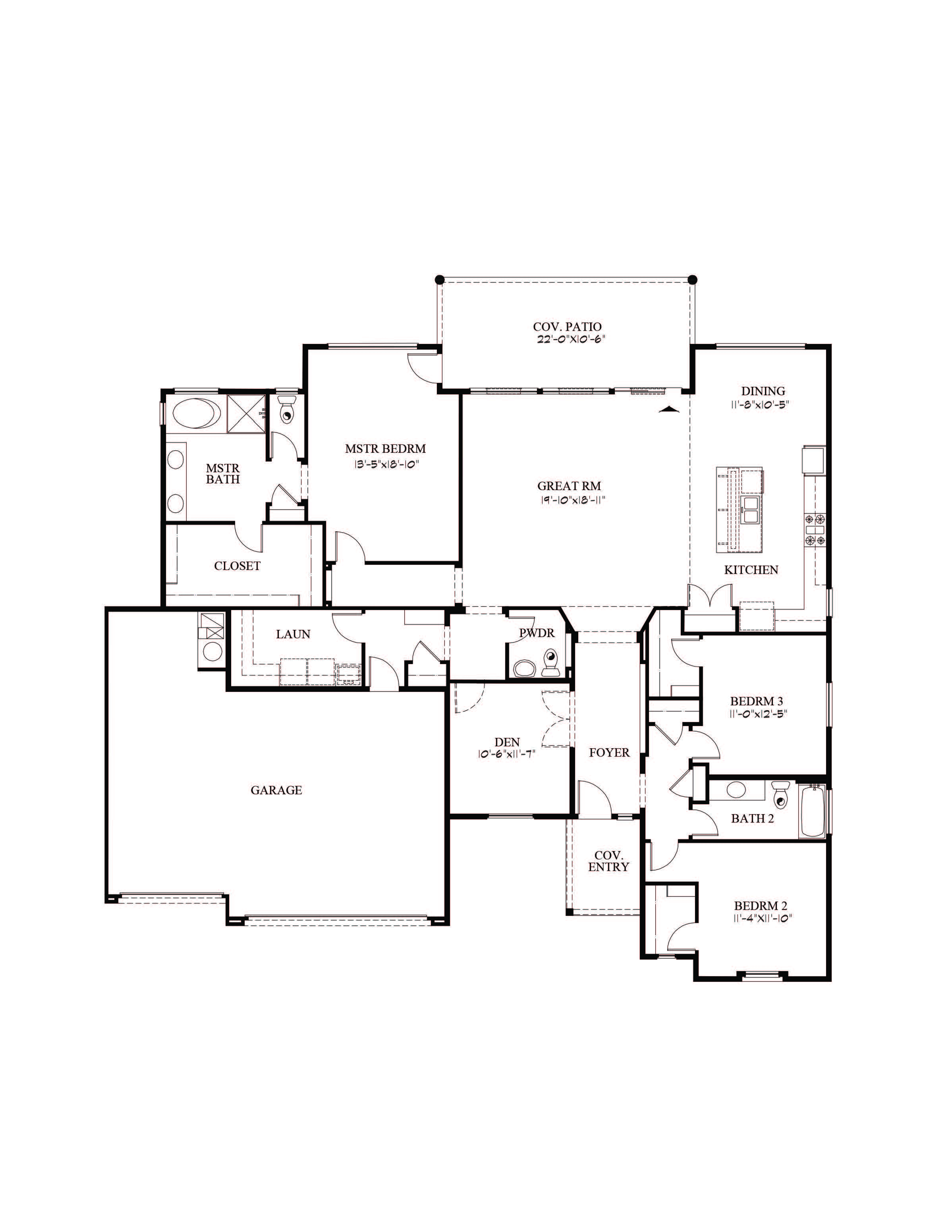 Elegancia Floor Plan