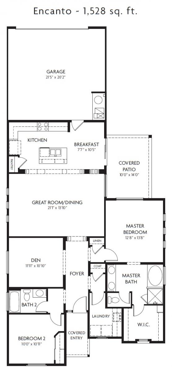 Encanto Floor Plan